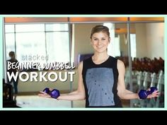 Beginner Dumbbell Workout, 10 Minute Stacked Routine