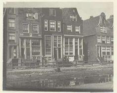 Gezicht op de Palmgracht bij de Kromme Palmstraat in Amsterdam, George Hendrik Breitner (attributed to), 1895 - Rijksmuseum