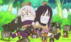 Naruto SD: Kabuto and Orochimaru!