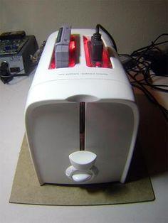 Super Nintendo/Toaster