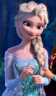 Very detailed image of her bodice and such in the frozen movie