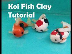 Polymer Clay Koi Fish Tutorial ❤