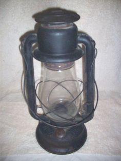 OVB   NO.2 Antigue lantern made by Hibbard  Spencer  Bartiett& Co. of Chicago