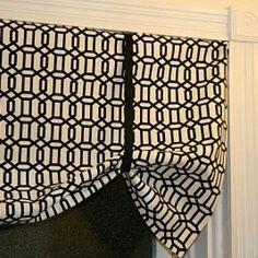 valance patterns no sew | Easy No Sew Valance {Drapes}