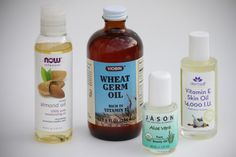DIY Stetch Mark Prevention Oil:     1/2 cup of sweet almond oil.   1/4 cup of wheat germ oil.   2 tablespoons of aloe vera oil.      2 tablespoons of vitamin e oil  *Optional- 1/2 tablespoon of emu oil for scar reduction.    Shake it each use since some of the heavier oils can separate.  Apply generously twice a day.