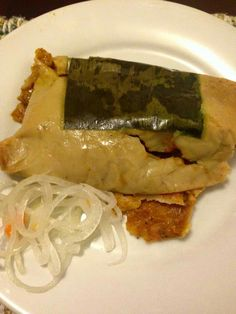 Mexican Dishes, Mexican Food Recipes, Snack Recipes, Cooking Recipes, Healthy Recipes, Ethnic Recipes, Snacks, Belizean Tamales Recipe, Pasteles Recipe