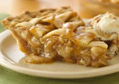 Caramel Apple #Pie
