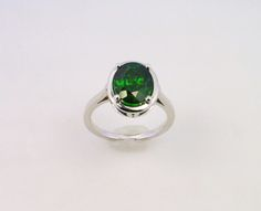 Jewelry Ring Chrome diopside ring gemstone