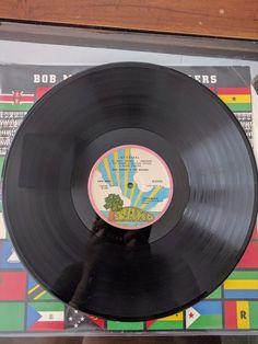 Bob Marley & The Wailers – Survival rare negrain press on pink rim island label #PoliticalReggaeRoots