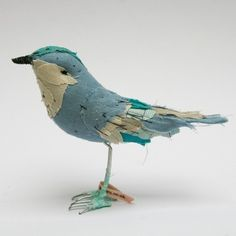 I want a forest full of scrap fabric woodland creatures. Starting with this one.