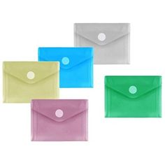 10 A7 Envelopes in multiple colours, maybe to hold loose stickers (~5,02€ with shipping)