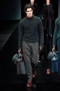 Giorgio Armani | FW 2014 | Milano Moda Uomo