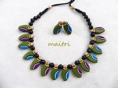 terracotta jewellery designs - Google Search