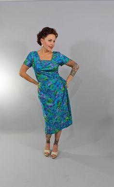 1950s Vintage DressTO MY LOVE Summer Fashion by stutterinmama, $84.00