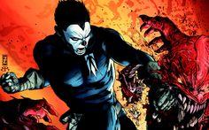 Michael Straczynski Talks 'Shadowman' Movie For Valiant Comics Valiant Comics, Comic Art, Pop Culture, Batman, Superhero, Celebrities, Movies, Fictional Characters, Art