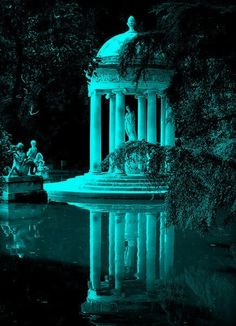 Voyager ©: Villa Durazzo-Pallavicini, Genoa, Italy (by Robert Wallace) Gazebos, Belle Villa, Parcs, Beautiful Architecture, Dream Garden, Abandoned Places, Beautiful Gardens, Places To Go, Beautiful Places