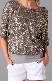 Vince Sequin Top