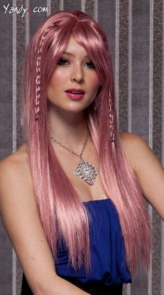 Fantastic Fire Engine Red Extra Long Straight Wig Wigs Fire And Blush Short Hairstyles Gunalazisus