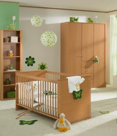 18 Nice Baby Nursery Furniture Sets and Design Ideas for Girls and Boys by Paidi | DigsDigs