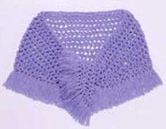 fringed shawl