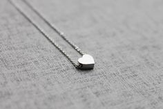 Cute tiny Heart  charm Necklace  S2109 1 by Ringostone on Etsy, $12.00. Perfect for my daughter's friends!