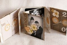 tutorial mini album (many fold) joli...: http://latelierscrapbonheur.over-blog.com/article-mini-dis-moi-oui-par-angele-tuto-64669256.html