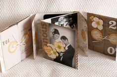 tutorial mini album (many fold) joli...: http://latelierscrapbonheur.over-blog.com/article-mini-dis-moi-oui-par-angele-tuto-64669256.html