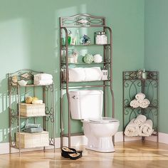 Reflections 3-tier Metal Bathroom Storage Rack - Free Shipping Today - Overstock.com - 10389140