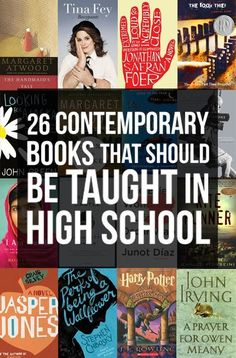 Contemporary Books That Should Be Taught In High School 26 Contemporary Books That Should Be Taught In High School I Am Malala! Contemporary Books That Should Be Taught In High School I Am Malala! High School Reading, High School Books, High School Literature, American Literature, High School Libraries, Classroom Libraries, I Love Books, Good Books, Books To Read