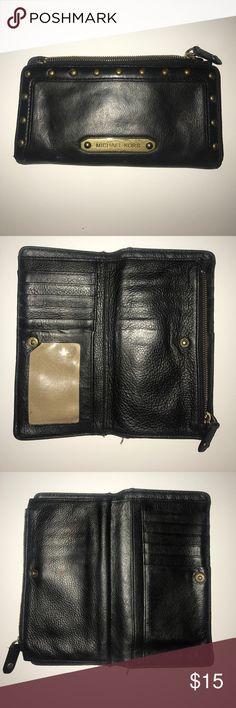 Black Michael Kors Wallet. Bronze Hardware. Black Michael Kors Wallet. Bronze Hardware. Used condition. Michael Kors Bags Wallets