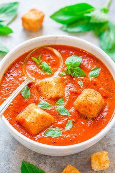 Easy 30-Minute Tomato Basil Soup