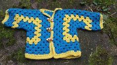 Mijn Haakblog: Hexagon Babyvestje in Merinowol