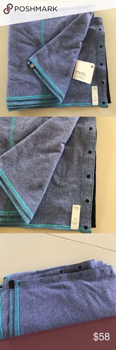 NWT LULULEMON BLUE HERRINGBONE VINYASA SCARF Brand: Lululemon Athletica Vinyasa Scarf Herringbone Blue  Condition: New with tag (tag comes unattached) one size  ||    NO TRADES  NO LOWBALL OFFERS  NO RUDE COMMENTS  NO MODELING  ☀️Please don't discuss prices in the comment box. Make a reasonable offer and I'll either counter, accept or decline.   I will try to respond to all inquiries in a timely manner. Please check out the rest of my closet, I have various brands. Some new with tag, others…