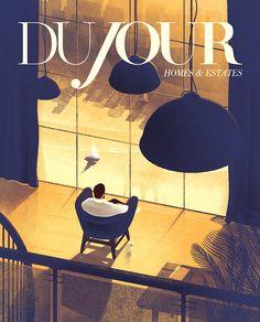 Cover illustration for DuJour.
