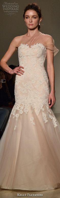 New York Bridal Fashion Week Day 1: Kelly Faetanini Fall 2016 Wedding Dress #weddingdress #weddingdresses #bridal #nybfw #nybm #bfw #newyorkbridalmarket #newyorkbridalfashionweek #newyorkbridalweek #runway #fashionshow #mermaidweddingdress #runway