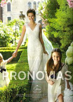 Ugena - Pronovias campaign shot