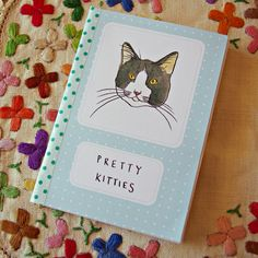 Pretty Kitties Art Zine, washi tape, staples and paper…easy enough to make my own zines