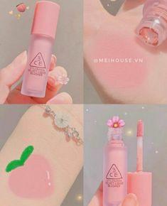 Kawaii Makeup, Cute Makeup, Makeup Looks, Makeup Kit, Skin Makeup, Beauty Skin, Beauty Makeup, Mode Rose, Peach Makeup