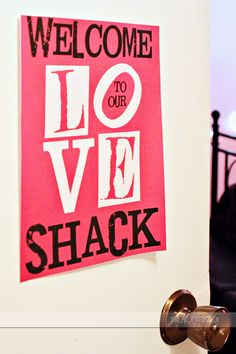 WELCOME TO OUR LOVE SHACK! Dress up your bedroom for an evening at home with your husband. Free printable and links to games that will connect you with your spouse. I LOVE this site - many good, simple, inexpensive ideas for DIY gifts, games, cards, etc....