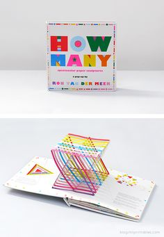 How Many? Pop-up book by Ron Van Der Meer