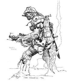 Cam Kennedy Sketchbook