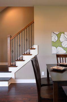 Whispering Meadows, Teak Craftsman Model Home - Staircase - Other Metro - Jagoe Homes Inc