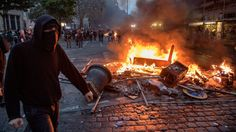 """G20: 'Difficult' talks ahead as protesters arrested https://tmbw.news/g20-difficult-talks-ahead-as-protesters-arrested  Leaders are entering the final day of talks at the G20 meeting in Hamburg as officials try to bridge the gap with the US on issues such as trade and climate change.German Chancellor Angela Merkel, who is hosting the summit in Hamburg, said the talks so far had been """"very difficult"""".Negotiators worked through the night in an attempt to reach a compromise on the wording of…"""