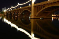 the Mill Avenue Bridge