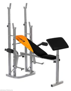 V-Fit Stb09-4 Herculean Folding Weight Training Bench Multigym