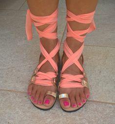 leather sandalsgladiator sandalswomens by chicbelledejour on Etsy Greek Sandals, Beach Sandals, Strappy Sandals, Gladiator Sandals, Leather Sandals, Shoes Sandals, Cluster Ring, Slipper Sandals, Hot Heels