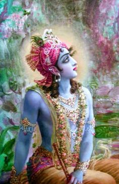 """""""O self-illuminated one, the great saintly persons who have crossed over the ocean of nescience by the help of the transcendental boat of Your lotus feet have not taken away that boat. It is still lying on this side."""" KRSNA Book, chapter 2"""
