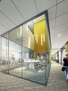 Un complejo universitario con una arquitectura e iluminación únicas 02- comunidad de iluminacion