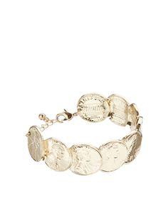 ASOS Coin Cuff Bracelet