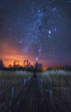 Path to the Stars - ©Oleg Kuchorenko - www.fotoblur.com/images/560512